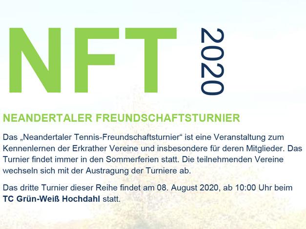 NFT – NEANDERTALER FREUNDSCHAFTSTURNIER am 08.08.2020